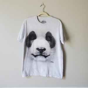 THE MOUNTAIN   Marbled Panda Graphic Tee   S